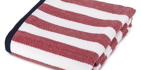 TipTrade Plážová osuška Splash červená 90x1702