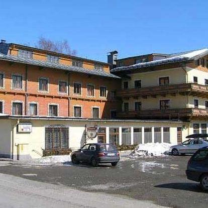 Rakousko - Saalbach / Hinterglemm na 3 dny, polopenze s dopravou autobusem