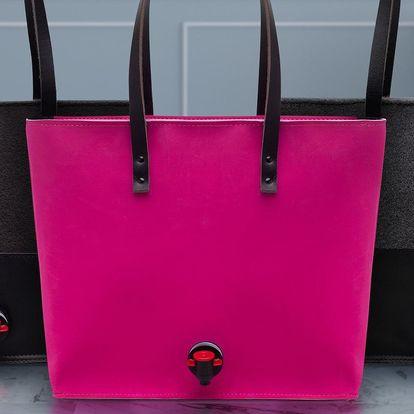 Nejen na víno: kabelky s pípou ve třech barvách