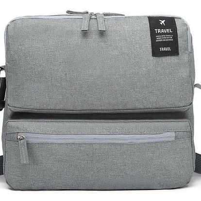 Dámská šedá cestovní taška Lexie 6851