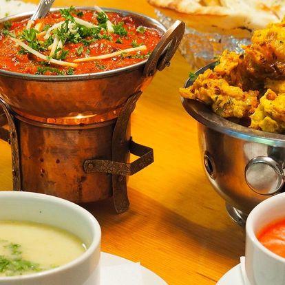 Sestavte si 3chodové nepálské menu pro dva