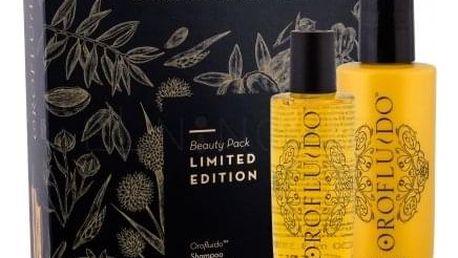 Orofluido Beauty Elixir dárková kazeta pro ženy tekuté zlato Elixir 100 ml + šampon 200 ml