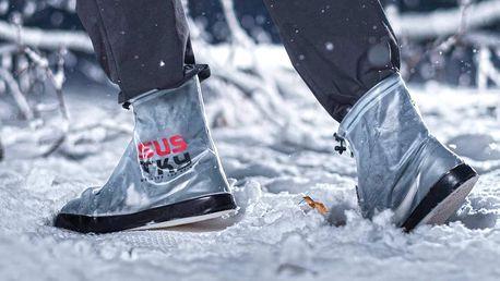 Šustky - praktický nepromokavý obal na boty