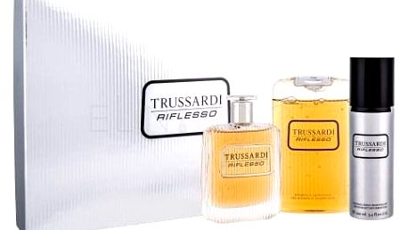 Trussardi Riflesso dárková kazeta pro muže toaletní voda 100 ml + sprchový gel 200 ml + deodorant 100 ml
