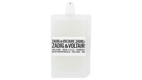 Zadig & Voltaire This is Her! 100 ml parfémovaná voda tester pro ženy