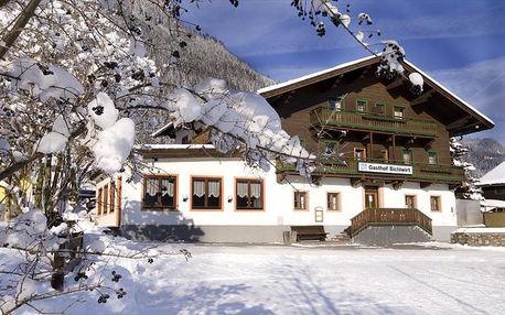 Rakousko - Saalbach / Hinterglemm na 4 dny, snídaně s dopravou vlastní