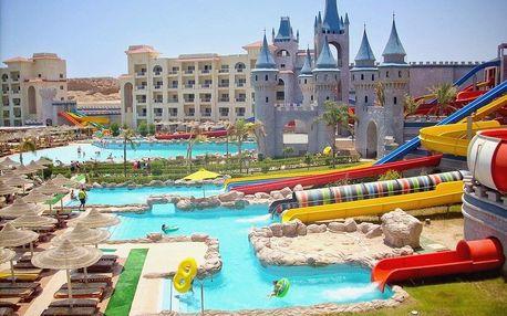Egypt - Hurghada na 8 dní, all inclusive s dopravou letecky z Prahy, 600 m od pláže