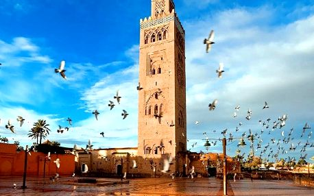 Maroko - na 8 dní, polopenze s dopravou letecky z Prahy