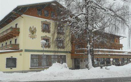 Rakousko - Kaprun / Zell am See na 4 dny, polopenze s dopravou autobusem