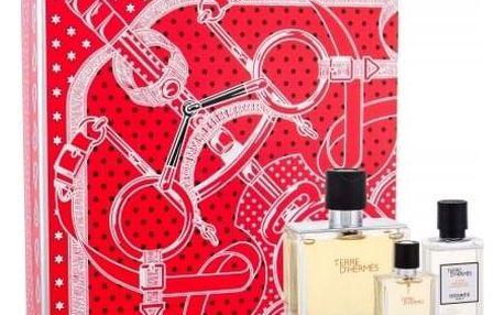 Hermes Terre D´Hermès dárková kazeta pro muže parfém 75 ml + voda po holení 40 ml + parfém 12,5 ml