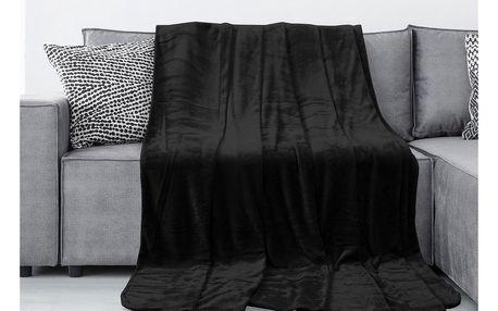 AmeliaHome Deka Tyler černá, 150 x 200 cm