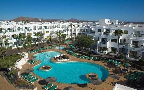 Kanárské ostrovy - Lanzarote na 8 dní, snídaně nebo bez stravy s dopravou letecky z Prahy