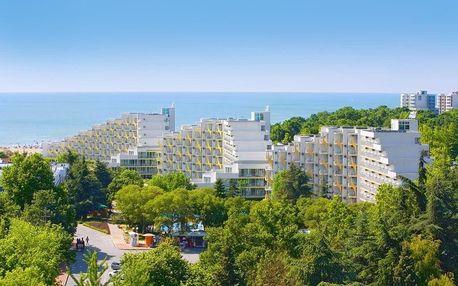 Bulharsko - Albena na 8 dní, all inclusive s dopravou letecky z Prahy nebo Brna, 150 m od pláže