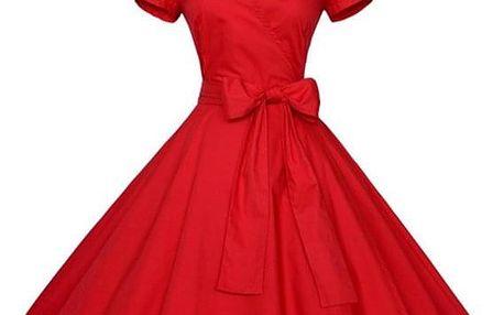 Dámské retro společenské šaty