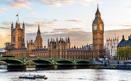United Kingdom - London na 5 dní, snídaně s dopravou autobusem