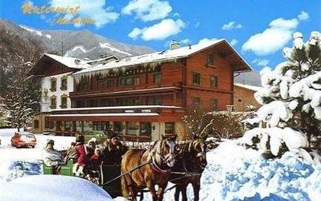 Rakousko - Kaprun / Zell am See na 5 dní, snídaně s dopravou autobusem