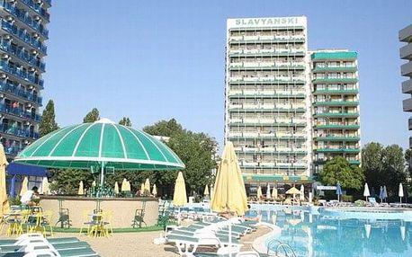 Bulharsko - Slunečné Pobřeží na 8 dní, polopenze s dopravou letecky z Prahy, 30 m od pláže