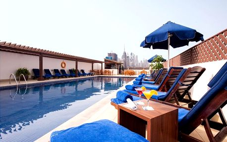 Spojené arabské emiráty - Dubai na 4 až 5 dní, polopenze nebo snídaně s dopravou letecky z Prahy, 5 km od pláže