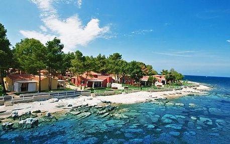 Chorvatsko - Umag na 8 dní, bez stravy s dopravou vlastní, 200 m od pláže