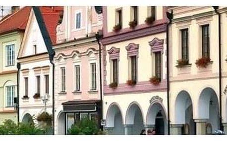 Česká republika - Jižní Čechy na 3 až 4 dny, polopenze s dopravou vlastní