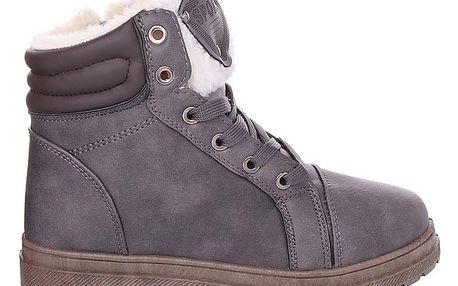 Cabin Šedé dámské zimní boty RA1011G Velikost: 36 (23,5 cm)