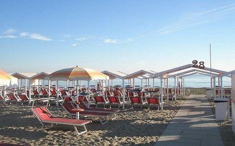 Itálie - Emilia Romagna na 8 dní, polopenze s dopravou vlastní, 100 m od pláže