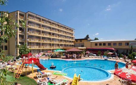 Bulharsko - Slunečné Pobřeží na 8 dní, polopenze s dopravou letecky z Prahy, 250 m od pláže