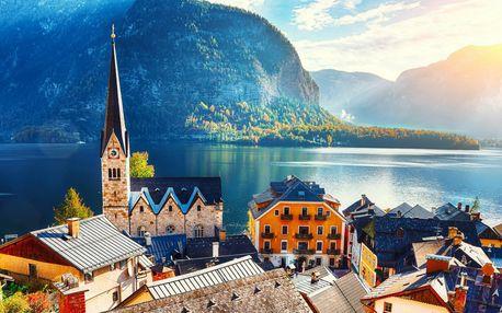 Hallstatt – jar v rakúskych Alpách