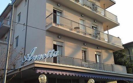 Itálie - Rimini na 8 dní, polopenze s dopravou vlastní, 400 m od pláže