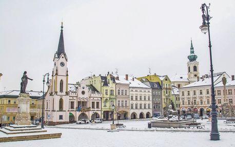 3 dny výletů a lyžování blízko Adršpachu pro dva