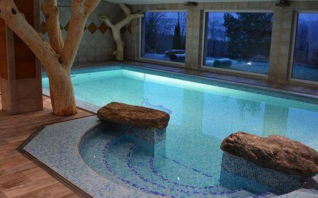 Hotel Podlesí s bazénem, vířivkou či masáží a Pohádkovou vesničkou