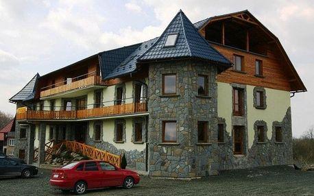 Slovensko - Západní Tatry na 8 dní, polopenze s dopravou vlastní