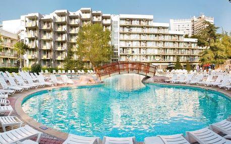 Bulharsko - Albena na 8 dní, all inclusive s dopravou letecky z Prahy nebo Brna, 100 m od pláže