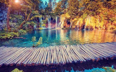 3denní poznávací zájezd k Plitvickým jezerům v Chorvatsku pro 1 osobu
