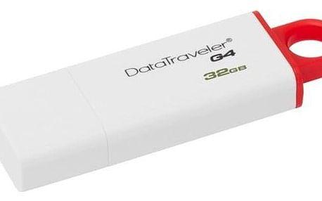 Kingston DataTraveler G4 32GB červený (DTIG4/32GB)