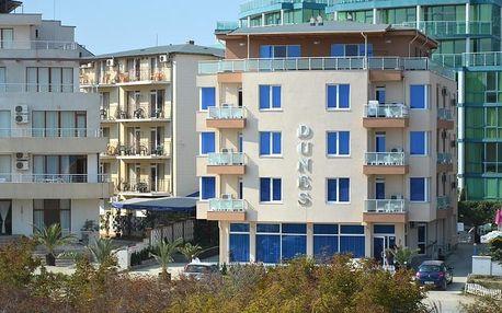 Bulharsko - Primorsko na 8 dní, polopenze s dopravou letecky z Prahy nebo Pardubic, 120 m od pláže