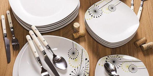 VANESA Jídelní souprava talířů z porcelánu 18dílná, MÄSER2