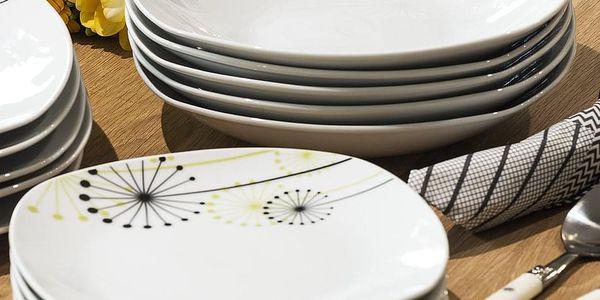 VANESA Jídelní souprava talířů z porcelánu 18dílná, MÄSER3