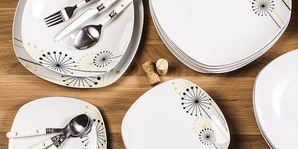 VANESA Jídelní souprava talířů z porcelánu 18dílná, MÄSER4