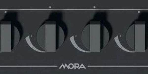Plynová varná deska Mora VDP 645 GB3 černá/sklo5