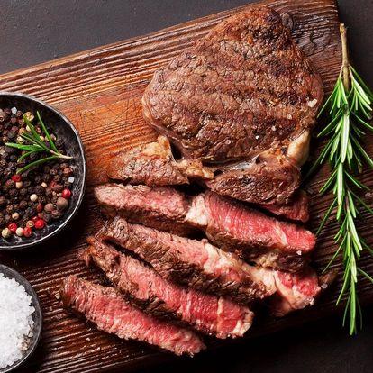 Šťavnaté flambované vepřové steaky z krkovičky