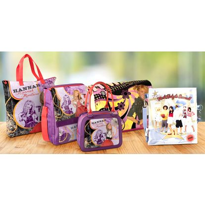 Brašny i kabelky s motivy Hannah Montana i Bratz
