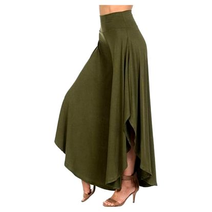 Sukňové kalhoty- elegantní