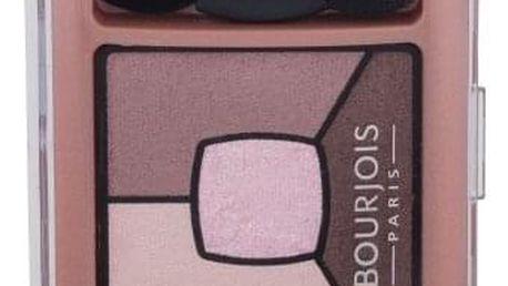 BOURJOIS Paris Smoky Stories Quad Eyeshadow Palette 3,2 g oční stín pro ženy 02 Over Rose