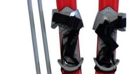 CorbySport Plastkon 28445 Lyže dětské 90cm - červené
