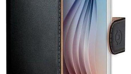Celly Wally pro Galaxy S6 černé (WALLY490)