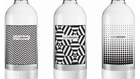 SodaStream 1l TriPack Black&White
