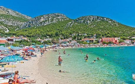Chorvatsko - Jižní Dalmácie na 10 dní, bez stravy s dopravou autobusem, 180 m od pláže