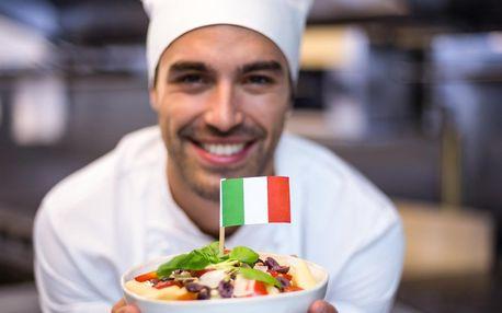 Víkendový kurz italštiny i s minikurzem vaření