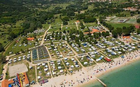 Chorvatsko - Krk na 10 dní, bez stravy s dopravou autobusem, 250 m od pláže